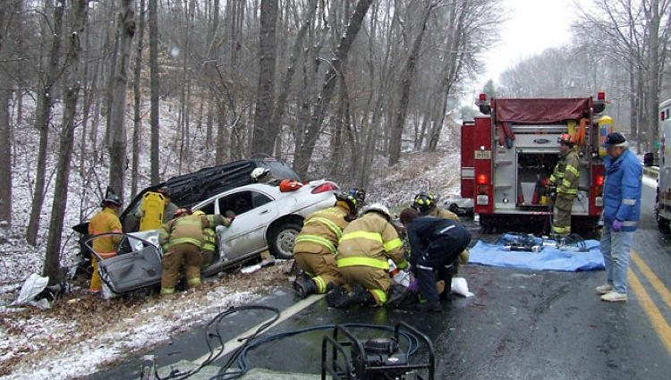 <p>The volunteer first responders in Virginia's Fluvanna county were hit hard by the recession.</p>