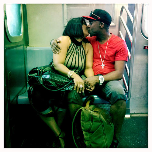 <p>Video journalist Rebecca Davis's project, <em>Commuters 2012</em>, documents life on New York's subways last year.</p>