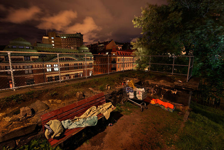 <p>Gothenberg--the country's second largest city--has about 3,400 homeless people living in its borders.</p>