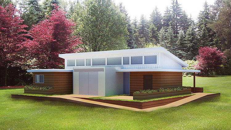 <p>The Start.Home--Stanford's entry in the Solar Decathalon's contest to build a home that produces more energy than it makes--is based around the idea of &quot;The Core.&quot;</p>