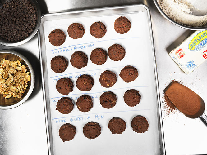<p>The company's researchers are also working on multiple eggless baking products, including one called &quot;Eat the Dough&quot; that's a replacement for people who like to eat cookie dough, but don't want to deal with all the Salmonella that can come along with it.</p>
