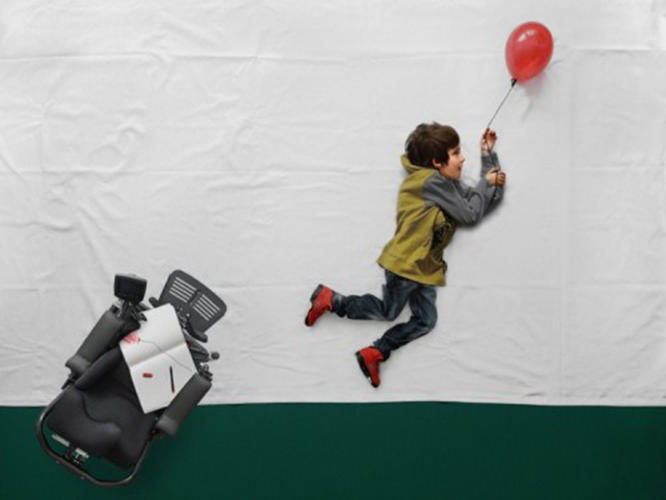 <p>In Slovenia, a recent online project attempts to subvert the norms of child heroes by inserting a boy with physical impairments into his own magical narrative.</p>