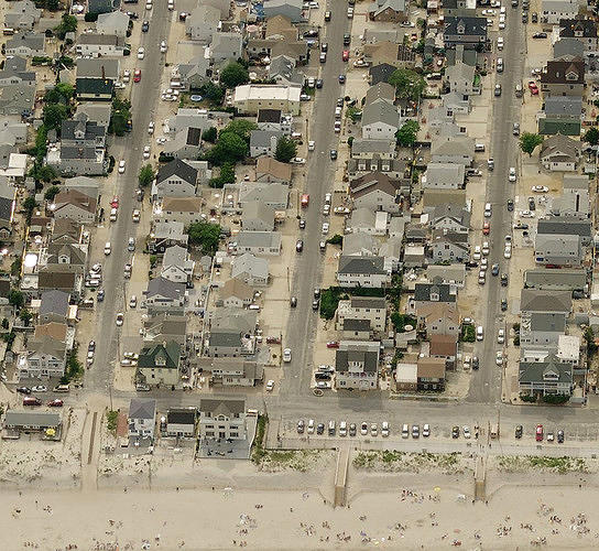 <p>These photos, <a href=&quot;http://www.fastcoexist.com/1680903/the-amazing-aerial-photos-of-sandys-destruction-that-are-helping-rebuild-the-region&quot; target=&quot;_self&quot;>captured by plane and used by the state to assess the damage and alert first responders, give a sense of the immense amount of damage</a>. This is a before picture of Seaside Heights, New Jersey.</p>