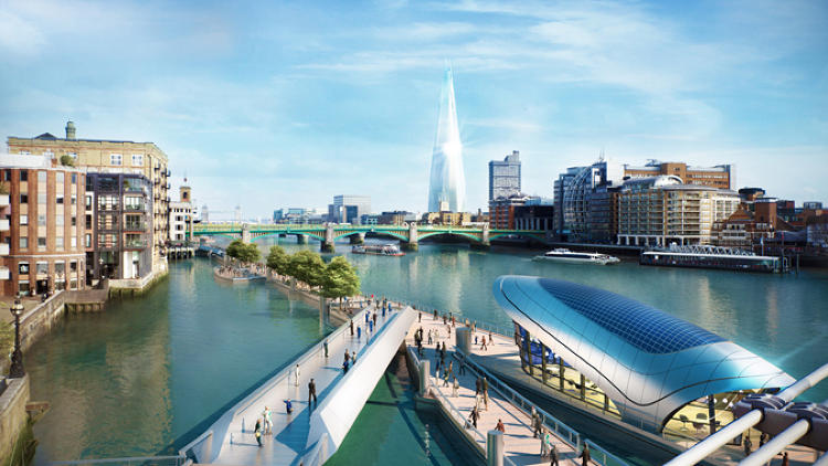 <p>In a project to redesign public space in various cities, this is what teams of designers came up with. In London, the designers worked on combining individual spaces across district boundaries to create a whole greater than the sum of its parts.</p>