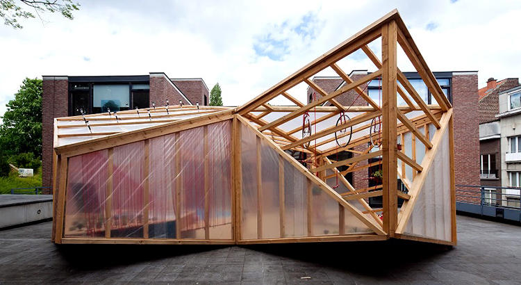 <p>Last year, it was installed on the roof terrace of the architecture center CIVA in Brussels.</p>