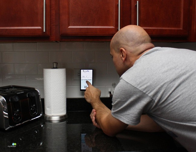 <p>MyWater displays real-time usage and compares that with similar houses in the area--as well as your personal water use over time--to help you make better decisions.</p>