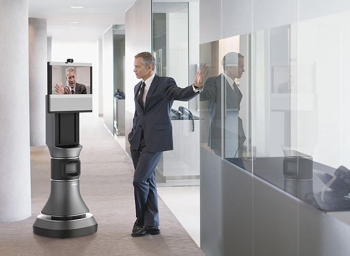 <p>There are two ways to teach the Ava 500 robot how to get around: you can upload a floor plan of the office into its interface, or you can let it roam, figuring things out as it goes along.</p>