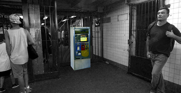 <p>Or putting Metrocard machines inside the turnstiles.</p>
