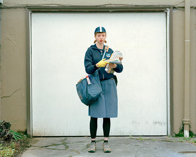 <p>He suggested it as the &quot;worst title you can give a portrait series made in Portland.&quot; (Pictured: Mary Kozlov)</p>