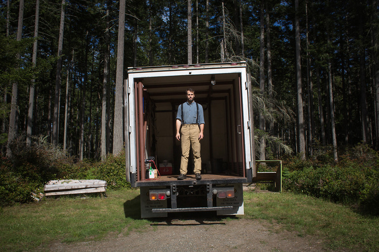 <p>Brandon Sheard meatsmithing truck would help small farmers with their meat preparation needs.</p>