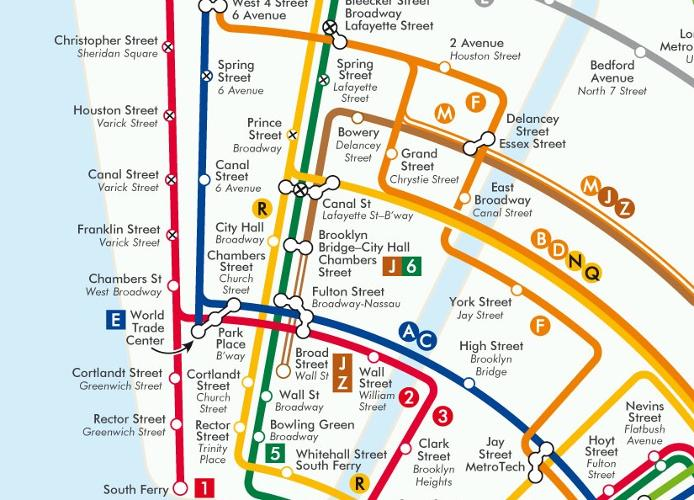 <p>His maps transform cities' transit systems into a series of concentric circles.</p>