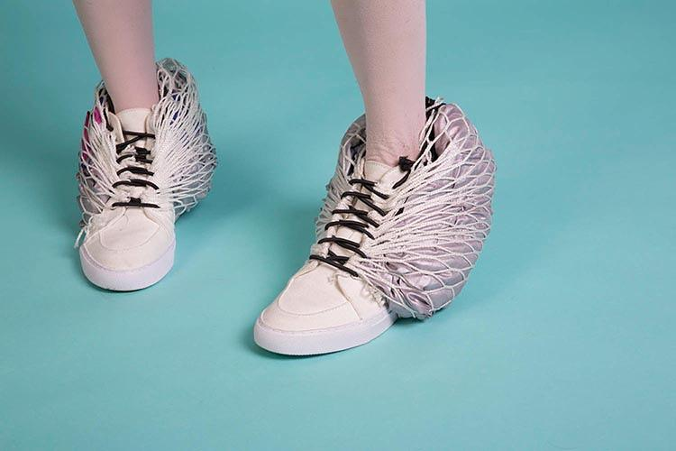 <p>&quot;These are some pretty fly shoes,&quot; architect and Sibling co-founder Jane Caught explains.</p>