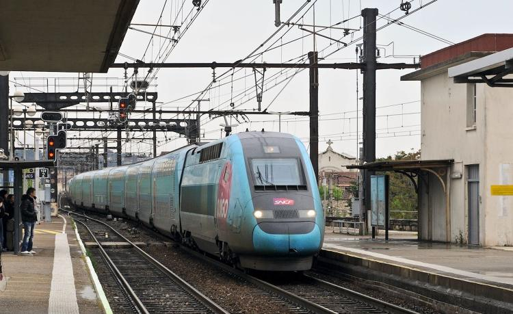 <p>Ouigo is a new affordable high-speed line launched this April that takes riders from Paris to Southeastern France for as little as 10 euros at speeds of 300 kilometers (186 miles) per hour.</p>