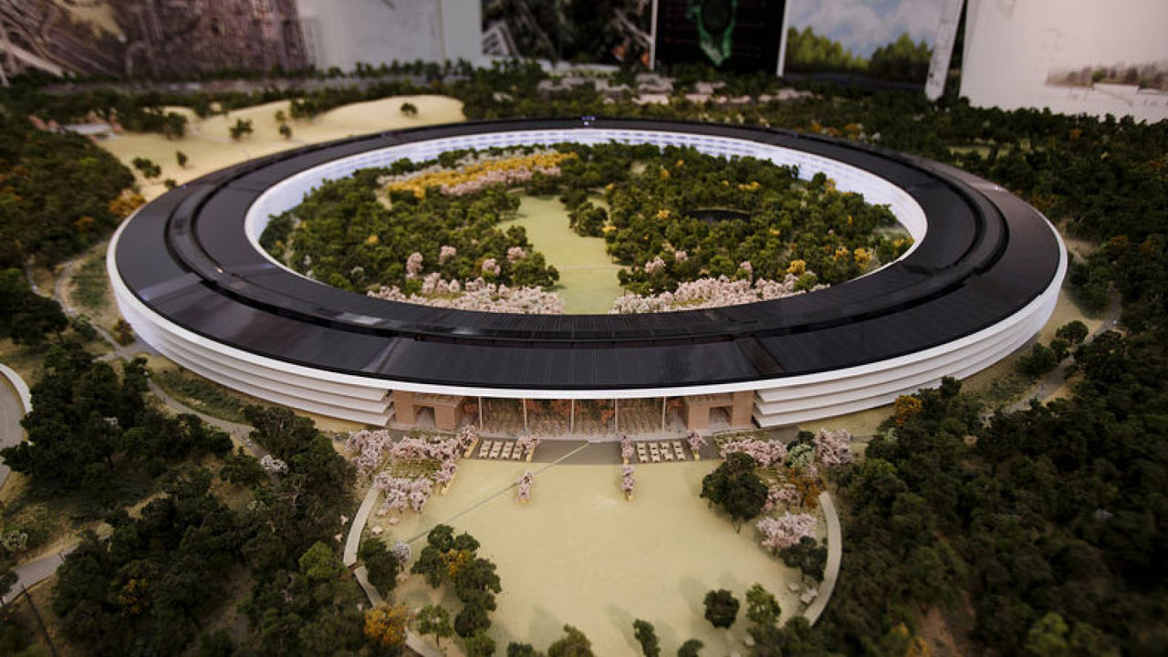 The Neighbors Are Cranky About Apple's Coming Spaceship Campus