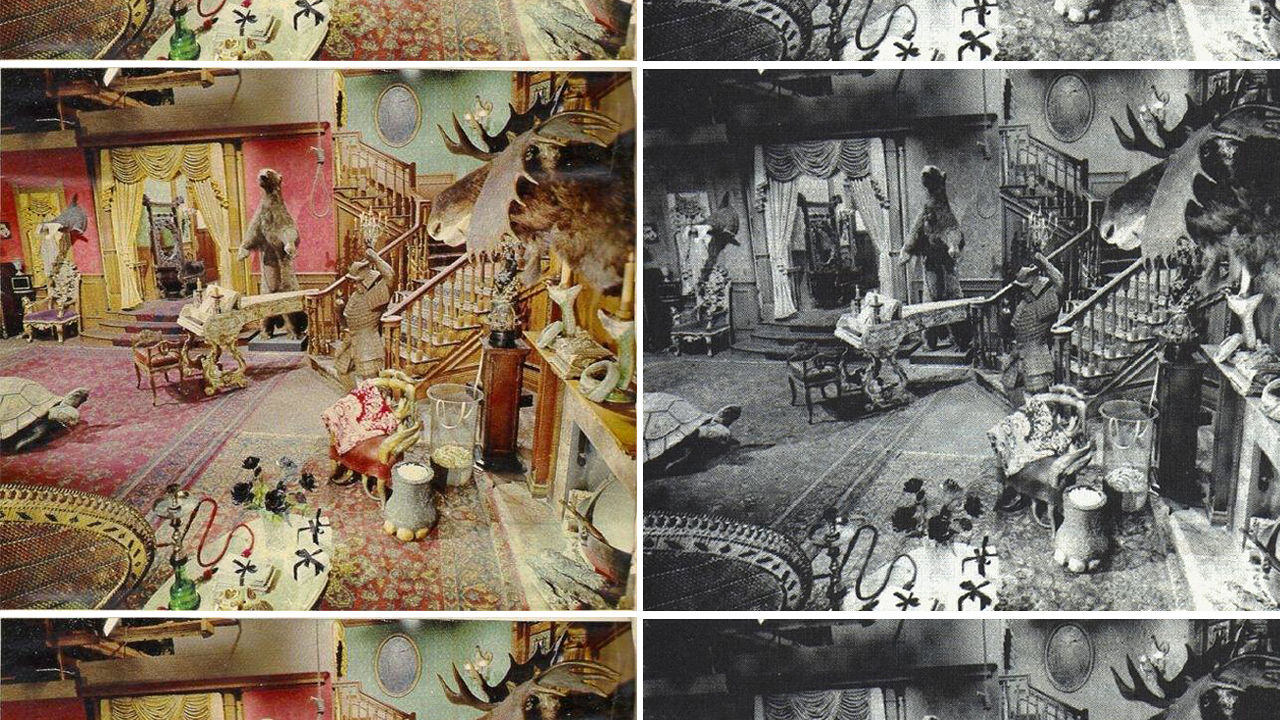 the addams familys living room was pink codesign business design addams family set
