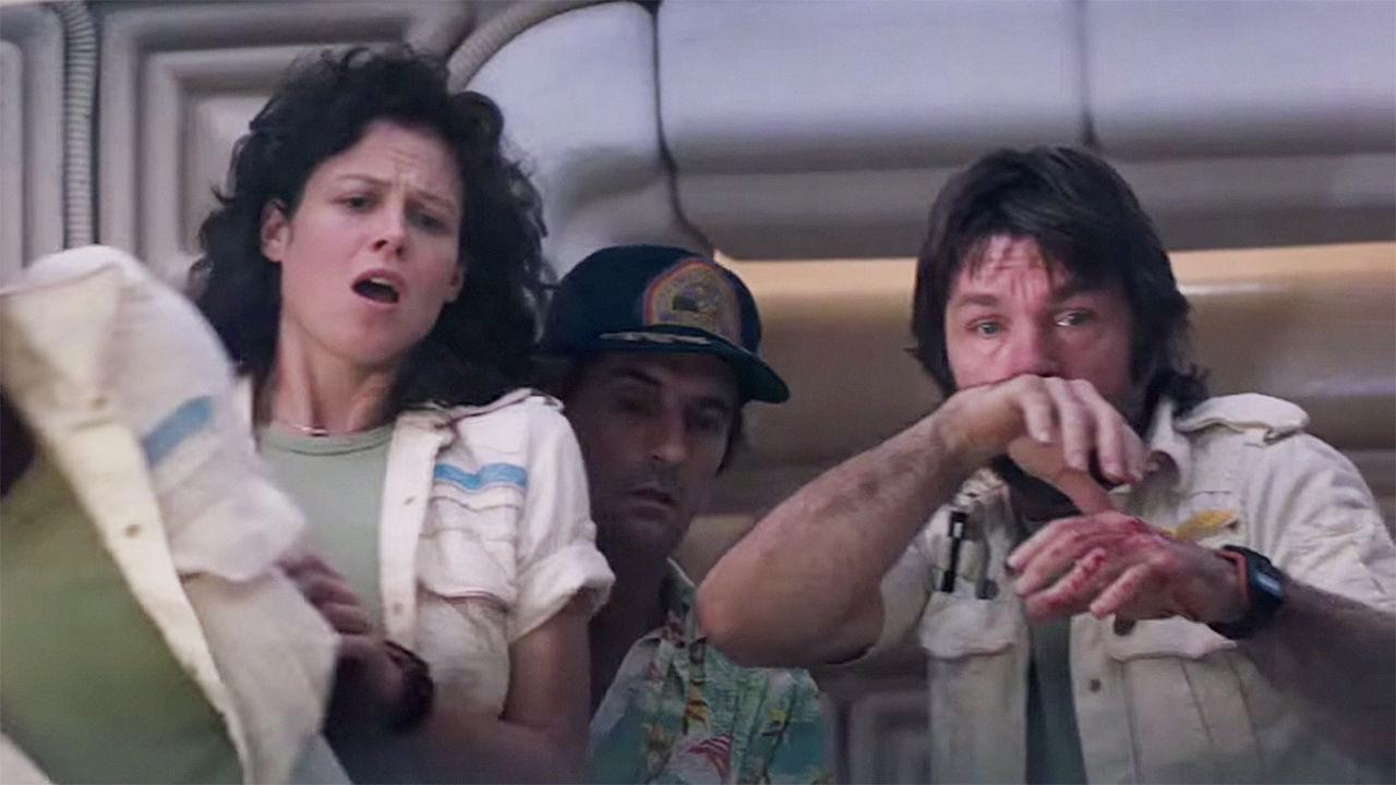 Image result for alien chestburster scene