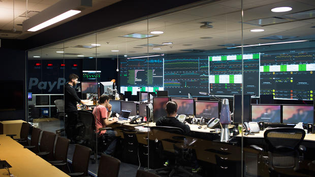 Inside Paypal S Command Center Fast Company Business