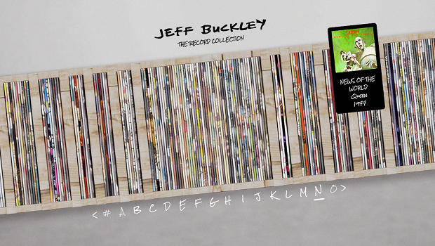 Jeff Buckley's Mom Curates A Digital Tour Through The Late Singer's Record Collection