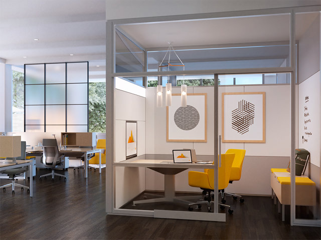 Steelcase and susan cain design offices for introverts for Outer space office design