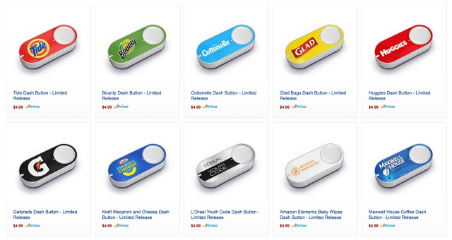 Amazon S Dash Buttons Are Here And You Can Buy Them For