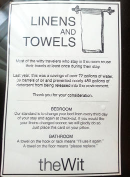 Read About How Hotels Get You To Reuse Towels Everyone S Doing It Co Design Business Design