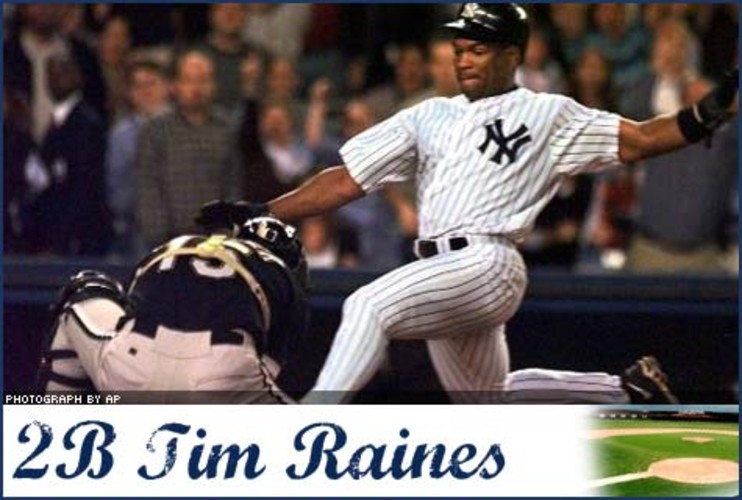 <p> The speedy outfielder was no longer so lightfooted at age 41, when he injured his left shoulder sliding into first base in May 2001. Tim Raines spent months recovering from tendon and labrum surgeries, and his return to the field was short-lived.  </p>