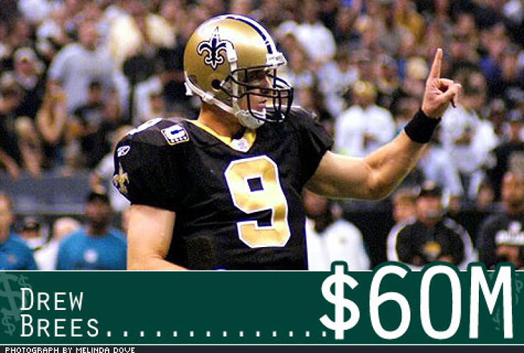 <p> In January 2006, the QB had major shoulder surgery. Andrews' testimonial that Brees would fully recover led the Saints to give him a six-year contract worth $60 million. He led the team to the NFC Championship Game one year after surgery.  </p>