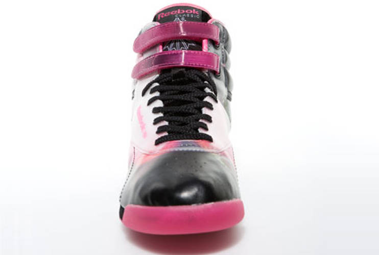 <p> Reebok Emoretion and Struccess limited-edition sneakers, 2008.  </p>