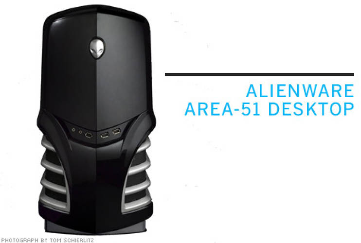 <p> <strong>From Astro Studios:</strong> A hard-core gaming PC, like the Alienware Area-51 Desktop, should look mean; this one practically snarls.  </p> <p> <strong>$2,299</strong>  </p>