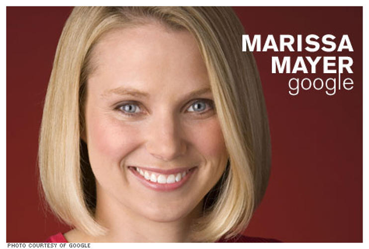 <p><strong>Who she is:</strong> Vice President of Search Products and User Experience at Google.</p> <p><strong>What she's done:</strong> Mayer was a major player behind many of Google's most popular interactive services, including Gmail, the first email program to follow a threaded-message model; Orkut, which Mayer claims was the first social network that wasn't angled towards dating; and iGoogle, which allows you to personalize your Google page.</p>