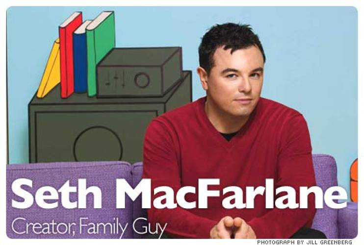 <p>Earlier this year, Seth MacFarlane inked a $100 million contract with Fox, followed by a breakthrough deal involving Google. Among males 18-to-34, often cited as the most desirable demographic in advertising, Family Guy is the highest-rated scripted program in all of television. It is among the most-downloaded shows on iTunes and the most-watched programs on Hulu. In September, the first of 50 bizarro animated shorts by MacFarlane appeared online. Seth MacFarlane's &quot;Cavalcade of Cartoon Comedy,&quot; distributed by Google, is a series of Webisodes that MacFarlane describes as edgier versions of New Yorker cartoons come to life. For fans, they are MacFarlane's first non-TV venture and so exist outside the reach of censors and network suits. For the entertainment industry, they mark the first experiments with a bold new method of content distribution (and the entry of Google into its world). This purportedly unsophisticated hack comic now finds himself at the intersection of advertising, television, and the Web. &quot;Animation is something that, if it works, it's more profitable for a studio than any other show,&quot; MacFarlane says.   <br /><a href=&quot;http://www.fastcompany.com/magazine/130/family-values.html&quot; target=&quot;_new&quot;><em>Learn more</em></a>  </p>