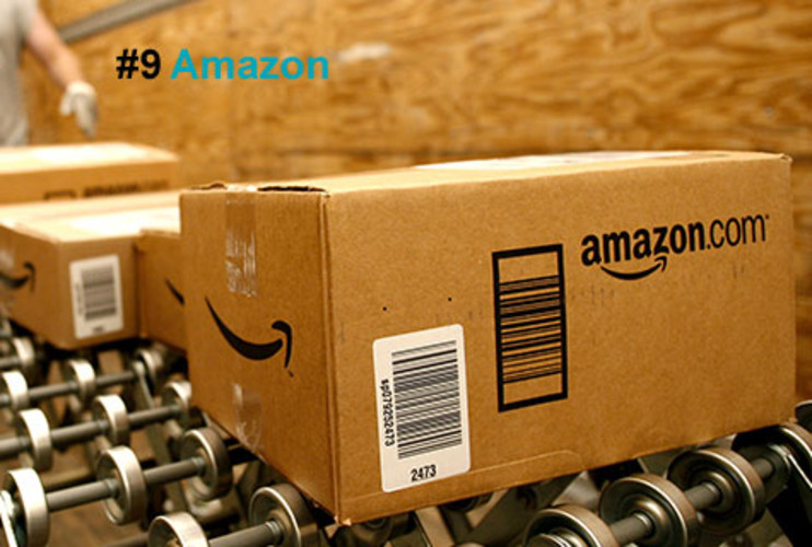 <p>Amazon may have started out selling books online, but these days it peddles everything from pickled carrots to two-carat diamond rings. The site logged the best holiday season in its history despite the rough economy. CEO Jeff Bezos credits the $4 billion spent on R&D over the past decade. Last summer, Amazon added a new movie-download service to accompany its MP3 and electronic-book services; the Kindle, its electronic reader, sold more units in its first year than the iPod did in its debut, generating about $136 million in sales; and the company's cloud-computing and data-storage business now counts more than 440,000 customers and 29 billion objects stored.</p>  <p><a href=&quot;http://www.fastcompany.com/fast50_09/profile/list/amazon&quot; target=&quot;_new&quot; title=&quot;Amazon&quot;>-- Read the Full Profile</a></p> <p><strong>The Fast Company 50 Navigation:</strong><br /> <a href=&quot;http://www.fastcompany.com/multimedia/slideshows/content/2009-fast-company-50.html?page=2&quot; title=&quot;Team Obama&quot;>01</a> | <a href=&quot;http://www.fastcompany.com/multimedia/slideshows/content/2009-fast-company-50.html?page=3&quot; title=&quot;Google&quot;>02</a> | <a href=&quot;http://www.fastcompany.com/multimedia/slideshows/content/2009-fast-company-50.html?page=4&quot; title=&quot;Hulu&quot;>03</a> | <a href=&quot;http://www.fastcompany.com/multimedia/slideshows/content/2009-fast-company-50.html?page=5&quot; title=&quot;Apple&quot;>04</a> | <a href=&quot;http://www.fastcompany.com/multimedia/slideshows/content/2009-fast-company-50.html?page=6&quot; title=&quot;Cisco Systems&quot;>05</a> | <a href=&quot;http://www.fastcompany.com/multimedia/slideshows/content/2009-fast-company-50.html?page=7&quot; title=&quot;Intel&quot;>06</a> | <a href=&quot;http://www.fastcompany.com/multimedia/slideshows/content/2009-fast-company-50.html?page=8&quot; title=&quot;Pure Digital Technologies&quot;>07</a> | <a href=&quot;http://www.fastcompany.com/multimedia/slideshows/content/2009-fast-company-50.html?page=9&quot; title=&quot;WuXi PharmaTech&quot;>08</a> | <a href=&quot;http://www.fastcompany.com/multimedia/slideshows/content/2009-fast-company-50.html?page=10&quot; title=&quot;Amazon&quot;>09</a> | <a href=&quot;http://www.fastcompany.com/multimedia/slideshows/content/2009-fast-company-50.html?page=11&quot; title=&quot;Ideo&quot;>10</a> <br /> <a href=&quot;http://www.fastcompany.com/multimedia/slideshows/content/2009-fast-company-50.html?page=12&quot; title=&quot;GE&quot;>11</a> | <a href=&quot;http://www.fastcompany.com/multimedia/slideshows/content/2009-fast-company-50.html?page=13&quot; title=&quot;Hewlett-Packard&quot;>12</a> | <a href=&quot;http://www.fastcompany.com/multimedia/slideshows/content/2009-fast-company-50.html?page=14&quot; title=&quot;Nokia&quot;>13</a> | <a href=&quot;http://www.fastcompany.com/multimedia/slideshows/content/2009-fast-company-50.html?page=15&quot; title=&quot;Gilead Sciences&quot;>14</a> | <a href=&quot;http://www.fastcompany.com/multimedia/slideshows/content/2009-fast-company-50.html?page=16&quot; title=&quot;Facebook&quot;>15</a> | <a href=&quot;http://www.fastcompany.com/multimedia/slideshows/content/2009-fast-company-50.html?page=17&quot; title=&quot;NextEra Energy Resources&quot;>16</a> | <a href=&quot;http://www.fastcompany.com/multimedia/slideshows/content/2009-fast-company-50.html?page=18&quot; title=&quot;Q-Cells&quot;>17</a> | <a href=&quot;http://www.fastcompany.com/multimedia/slideshows/content/2009-fast-company-50.html?page=19&quot; title=&quot;First Solar&quot;>18</a> | <a href=&quot;http://www.fastcompany.com/multimedia/slideshows/content/2009-fast-company-50.html?page=20&quot; title=&quot;IBM&quot;>19</a> | <a href=&quot;http://www.fastcompany.com/multimedia/slideshows/content/2009-fast-company-50.html?page=21&quot; title=&quot;Zappos&quot;>20</a> <br /> <a href=&quot;http://www.fastcompany.com/multimedia/slideshows/content/2009-fast-company-50.html?page=22&quot; title=&quot;Nintendo&quot;>21</a> | <a href=&quot;http://www.fastcompany.com/multimedia/slideshows/content/2009-fast-company-50.html?page=23&quot; title=&quot;Disney&quot;>22</a> | <a href=&quot;http://www.fastcompany.com/multimedia/slideshows/content/2009-fast-company-50.html?page=24&quot; title=&quot;Crispin Porter + Bogusky&quot;>23</a> | <a href=&quot;http://www.fastcompany.com/multimedia/slideshows/content/2009-fast-company-50.html?page=25&quot; title=&quot;TBWA\Worldwide&quot;>24</a> | <a href=&quot;http://www.fastcompany.com/multimedia/slideshows/content/2009-fast-company-50.html?page=26&quot; title=&quot;New England Sports Ventures&quot;>25</a> | <a href=&quot;http://www.fastcompany.com/multimedia/slideshows/content/2009-fast-company-50.html?page=27&quot; title=&quot;DSM&quot;>26</a> | <a href=&quot;http://www.fastcompany.com/multimedia/slideshows/content/2009-fast-company-50.html?page=28&quot; title=&quot;Nike&quot;>27</a> | <a href=&quot;http://www.fastcompany.com/multimedia/slideshows/content/2009-fast-company-50.html?page=29&quot; title=&quot;NPR&quot;>28</a> | <a href=&quot;http://www.fastcompany.com/multimedia/slideshows/content/2009-fast-company-50.html?page=30&quot; title=&quot;Barbarian Group&quot;>29</a> | <a href=&quot;http://www.fastcompany.com/multimedia/slideshows/content/2009-fast-company-50.html?page=31&quot; title=&quot;W.L. Gore & Associates&quot;>30</a> <br /> <a href=&quot;http://www.fastcompany.com/multimedia/slideshows/content/2009-fast-company-50.html?page=32&quot; title=&quot;Busboy Productions&quot;>31</a> | <a href=&quot;http://www.fastcompany.com/multimedia/slideshows/content/2009-fast-company-50.html?page=33&quot; title=&quot;Skidmore, Owings & Merrill&quot;>32</a> | <a href=&quot;http://www.fastcompany.com/multimedia/slideshows/content/2009-fast-company-50.html?page=34&quot; title=&quot;Wal-Mart&quot;>33</a> | <a href=&quot;http://www.fastcompany.com/multimedia/slideshows/content/2009-fast-company-50.html?page=35&quot; title=&quot;Microsoft&quot;>34</a> | <a href=&quot;http://www.fastcompany.com/multimedia/slideshows/content/2009-fast-company-50.html?page=36&quot; title=&quot;Ubisoft&quot;>35</a> | <a href=&quot;http://www.fastcompany.com/multimedia/slideshows/content/2009-fast-company-50.html?page=37&quot; title=&quot;Vestas&quot;>36</a> | <a href=&quot;http://www.fastcompany.com/multimedia/slideshows/content/2009-fast-company-50.html?page=38&quot; title=&quot;Chevron Energy Solutions&quot;>37</a> | <a href=&quot;http://www.fastcompany.com/multimedia/slideshows/content/2009-fast-company-50.html?page=39&quot; title=&quot;CAA&quot;>38</a> | <a href=&quot;http://www.fastcompany.com/multimedia/slideshows/content/2009-fast-company-50.html?page=40&quot; title=&quot;L-3 Communications&quot;>39</a> | <a href=&quot;http://www.fastcompany.com/multimedia/slideshows/content/2009-fast-company-50.html?page=41&quot; title=&quot;Weta Digital&quot;>40</a> <br /> <a href=&quot;http://www.fastcompany.com/multimedia/slideshows/content/2009-fast-company-50.html?page=42&quot; title=&quot;Lego&quot;>41</a> | <a href=&quot;http://www.fastcompany.com/multimedia/slideshows/content/2009-fast-company-50.html?page=43&quot; title=&quot;Emirates&quot;>42</a> | <a href=&quot;http://www.fastcompany.com/multimedia/slideshows/content/2009-fast-company-50.html?page=44&quot; title=&quot;Genzyme&quot;>43</a> | <a href=&quot;http://www.fastcompany.com/multimedia/slideshows/content/2009-fast-company-50.html?page=45 title=&quot;Etsy&quot;>44</a> | <a href=&quot;http://www.fastcompany.com/multimedia/slideshows/content/2009-fast-company-50.html?page=46&quot; title=&quot;BYD&quot;>45</a> | <a href=&quot;http://www.fastcompany.com/multimedia/slideshows/content/2009-fast-company-50.html?page=47&quot; title=&quot;Warner Music Group&quot;>46</a> | <a href=&quot;http://www.fastcompany.com/multimedia/slideshows/content/2009-fast-company-50.html?page=48&quot; title=&quot;Aravind Eye Care System&quot;>47</a> | <a href=&quot;http://www.fastcompany.com/multimedia/slideshows/content/2009-fast-company-50.html?page=49&quot; title=&quot;Toyota&quot;>48</a> | <a href=&quot;http://www.fastcompany.com/multimedia/slideshows/content/2009-fast-company-50.html?page=50&quot; title=&quot;Pelamis Wave Power&quot;>49</a> | <a href=&quot;http://www.fastcompany.com/multimedia/slideshows/content/2009-fast-company-50.html?page=51&quot; title=&quot;Raser Technologies&quot;>50</a></p>