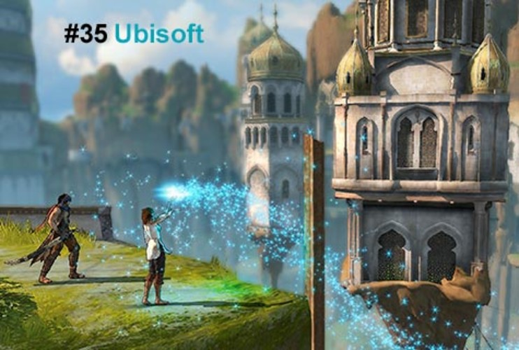 <p>This assassin's creed: Take no prisoners. The France-based video-game developer Ubisoft followed that mantra with gusto with its proprietary graphics engine Anvil. On the strength of the Anvil-powered stealth game <em>Assassin's Creed</em>, Ubisoft's first-half 2008 revenue jumped more than 30%. With the same engine powering <em>Shaun White Snowboarding</em> (November 2008) and <em>Prince of Persia</em> (December 2008), Ubisoft expects 2009 sales to rise 10% to $1.6 billion.</p>  <p><a href=&quot;http://www.fastcompany.com/fast50_09/profile/list/ubisoft&quot; target=&quot;_new&quot; title=&quot;Ubisoft&quot;>-- Read the Full Profile</a></p>  <p><strong>The Fast Company 50 Navigation:</strong><br /> <a href=&quot;http://www.fastcompany.com/multimedia/slideshows/content/2009-fast-company-50.html?page=2&quot; title=&quot;Team Obama&quot;>01</a> | <a href=&quot;http://www.fastcompany.com/multimedia/slideshows/content/2009-fast-company-50.html?page=3&quot; title=&quot;Google&quot;>02</a> | <a href=&quot;http://www.fastcompany.com/multimedia/slideshows/content/2009-fast-company-50.html?page=4&quot; title=&quot;Hulu&quot;>03</a> | <a href=&quot;http://www.fastcompany.com/multimedia/slideshows/content/2009-fast-company-50.html?page=5&quot; title=&quot;Apple&quot;>04</a> | <a href=&quot;http://www.fastcompany.com/multimedia/slideshows/content/2009-fast-company-50.html?page=6&quot; title=&quot;Cisco Systems&quot;>05</a> | <a href=&quot;http://www.fastcompany.com/multimedia/slideshows/content/2009-fast-company-50.html?page=7&quot; title=&quot;Intel&quot;>06</a> | <a href=&quot;http://www.fastcompany.com/multimedia/slideshows/content/2009-fast-company-50.html?page=8&quot; title=&quot;Pure Digital Technologies&quot;>07</a> | <a href=&quot;http://www.fastcompany.com/multimedia/slideshows/content/2009-fast-company-50.html?page=9&quot; title=&quot;WuXi PharmaTech&quot;>08</a> | <a href=&quot;http://www.fastcompany.com/multimedia/slideshows/content/2009-fast-company-50.html?page=10&quot; title=&quot;Amazon&quot;>09</a> | <a href=&quot;http://www.fastcompany.com/multimedia/slideshows/content/2009-fast-company-50.html?page=11&quot; title=&quot;Ideo&quot;>10</a> <br /> <a href=&quot;http://www.fastcompany.com/multimedia/slideshows/content/2009-fast-company-50.html?page=12&quot; title=&quot;GE&quot;>11</a> | <a href=&quot;http://www.fastcompany.com/multimedia/slideshows/content/2009-fast-company-50.html?page=13&quot; title=&quot;Hewlett-Packard&quot;>12</a> | <a href=&quot;http://www.fastcompany.com/multimedia/slideshows/content/2009-fast-company-50.html?page=14&quot; title=&quot;Nokia&quot;>13</a> | <a href=&quot;http://www.fastcompany.com/multimedia/slideshows/content/2009-fast-company-50.html?page=15&quot; title=&quot;Gilead Sciences&quot;>14</a> | <a href=&quot;http://www.fastcompany.com/multimedia/slideshows/content/2009-fast-company-50.html?page=16&quot; title=&quot;Facebook&quot;>15</a> | <a href=&quot;http://www.fastcompany.com/multimedia/slideshows/content/2009-fast-company-50.html?page=17&quot; title=&quot;NextEra Energy Resources&quot;>16</a> | <a href=&quot;http://www.fastcompany.com/multimedia/slideshows/content/2009-fast-company-50.html?page=18&quot; title=&quot;Q-Cells&quot;>17</a> | <a href=&quot;http://www.fastcompany.com/multimedia/slideshows/content/2009-fast-company-50.html?page=19&quot; title=&quot;First Solar&quot;>18</a> | <a href=&quot;http://www.fastcompany.com/multimedia/slideshows/content/2009-fast-company-50.html?page=20&quot; title=&quot;IBM&quot;>19</a> | <a href=&quot;http://www.fastcompany.com/multimedia/slideshows/content/2009-fast-company-50.html?page=21&quot; title=&quot;Zappos&quot;>20</a> <br /> <a href=&quot;http://www.fastcompany.com/multimedia/slideshows/content/2009-fast-company-50.html?page=22&quot; title=&quot;Nintendo&quot;>21</a> | <a href=&quot;http://www.fastcompany.com/multimedia/slideshows/content/2009-fast-company-50.html?page=23&quot; title=&quot;Disney&quot;>22</a> | <a href=&quot;http://www.fastcompany.com/multimedia/slideshows/content/2009-fast-company-50.html?page=24&quot; title=&quot;Crispin Porter + Bogusky&quot;>23</a> | <a href=&quot;http://www.fastcompany.com/multimedia/slideshows/content/2009-fast-company-50.html?page=25&quot; title=&quot;TBWA\Worldwide&quot;>24</a> | <a href=&quot;http://www.fastcompany.com/multimedia/slideshows/content/2009-fast-company-50.html?page=26&quot; title=&quot;New England Sports Ventures&quot;>25</a> | <a href=&quot;http://www.fastcompany.com/multimedia/slideshows/content/2009-fast-company-50.html?page=27&quot; title=&quot;DSM&quot;>26</a> | <a href=&quot;http://www.fastcompany.com/multimedia/slideshows/content/2009-fast-company-50.html?page=28&quot; title=&quot;Nike&quot;>27</a> | <a href=&quot;http://www.fastcompany.com/multimedia/slideshows/content/2009-fast-company-50.html?page=29&quot; title=&quot;NPR&quot;>28</a> | <a href=&quot;http://www.fastcompany.com/multimedia/slideshows/content/2009-fast-company-50.html?page=30&quot; title=&quot;Barbarian Group&quot;>29</a> | <a href=&quot;http://www.fastcompany.com/multimedia/slideshows/content/2009-fast-company-50.html?page=31&quot; title=&quot;W.L. Gore & Associates&quot;>30</a> <br /> <a href=&quot;http://www.fastcompany.com/multimedia/slideshows/content/2009-fast-company-50.html?page=32&quot; title=&quot;Busboy Productions&quot;>31</a> | <a href=&quot;http://www.fastcompany.com/multimedia/slideshows/content/2009-fast-company-50.html?page=33&quot; title=&quot;Skidmore, Owings & Merrill&quot;>32</a> | <a href=&quot;http://www.fastcompany.com/multimedia/slideshows/content/2009-fast-company-50.html?page=34&quot; title=&quot;Wal-Mart&quot;>33</a> | <a href=&quot;http://www.fastcompany.com/multimedia/slideshows/content/2009-fast-company-50.html?page=35&quot; title=&quot;Microsoft&quot;>34</a> | <a href=&quot;http://www.fastcompany.com/multimedia/slideshows/content/2009-fast-company-50.html?page=36&quot; title=&quot;Ubisoft&quot;>35</a> | <a href=&quot;http://www.fastcompany.com/multimedia/slideshows/content/2009-fast-company-50.html?page=37&quot; title=&quot;Vestas&quot;>36</a> | <a href=&quot;http://www.fastcompany.com/multimedia/slideshows/content/2009-fast-company-50.html?page=38&quot; title=&quot;Chevron Energy Solutions&quot;>37</a> | <a href=&quot;http://www.fastcompany.com/multimedia/slideshows/content/2009-fast-company-50.html?page=39&quot; title=&quot;CAA&quot;>38</a> | <a href=&quot;http://www.fastcompany.com/multimedia/slideshows/content/2009-fast-company-50.html?page=40&quot; title=&quot;L-3 Communications&quot;>39</a> | <a href=&quot;http://www.fastcompany.com/multimedia/slideshows/content/2009-fast-company-50.html?page=41&quot; title=&quot;Weta Digital&quot;>40</a> <br /> <a href=&quot;http://www.fastcompany.com/multimedia/slideshows/content/2009-fast-company-50.html?page=42&quot; title=&quot;Lego&quot;>41</a> | <a href=&quot;http://www.fastcompany.com/multimedia/slideshows/content/2009-fast-company-50.html?page=43&quot; title=&quot;Emirates&quot;>42</a> | <a href=&quot;http://www.fastcompany.com/multimedia/slideshows/content/2009-fast-company-50.html?page=44&quot; title=&quot;Genzyme&quot;>43</a> | <a href=&quot;http://www.fastcompany.com/multimedia/slideshows/content/2009-fast-company-50.html?page=45 title=&quot;Etsy&quot;>44</a> | <a href=&quot;http://www.fastcompany.com/multimedia/slideshows/content/2009-fast-company-50.html?page=46&quot; title=&quot;BYD&quot;>45</a> | <a href=&quot;http://www.fastcompany.com/multimedia/slideshows/content/2009-fast-company-50.html?page=47&quot; title=&quot;Warner Music Group&quot;>46</a> | <a href=&quot;http://www.fastcompany.com/multimedia/slideshows/content/2009-fast-company-50.html?page=48&quot; title=&quot;Aravind Eye Care System&quot;>47</a> | <a href=&quot;http://www.fastcompany.com/multimedia/slideshows/content/2009-fast-company-50.html?page=49&quot; title=&quot;Toyota&quot;>48</a> | <a href=&quot;http://www.fastcompany.com/multimedia/slideshows/content/2009-fast-company-50.html?page=50&quot; title=&quot;Pelamis Wave Power&quot;>49</a> | <a href=&quot;http://www.fastcompany.com/multimedia/slideshows/content/2009-fast-company-50.html?page=51&quot; title=&quot;Raser Technologies&quot;>50</a></p>