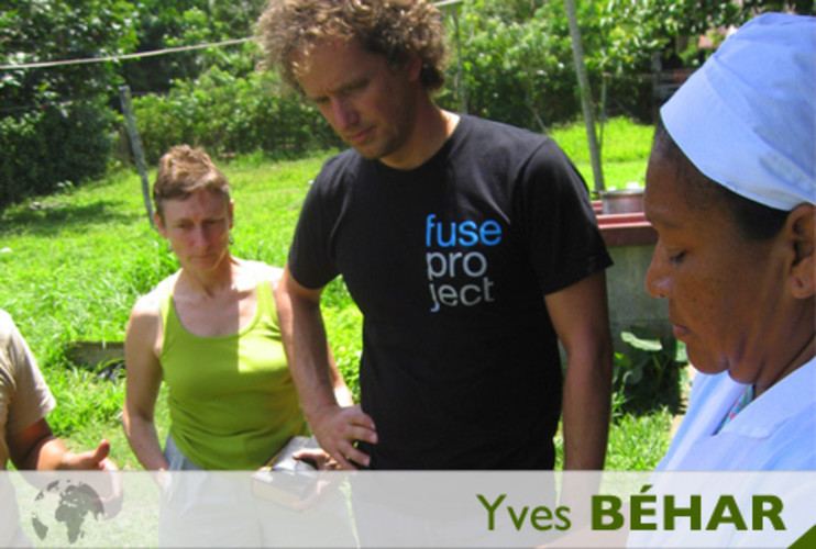 <p> Swiss industrial designer Yves Béhar meets with indigenous women who run an organic chocolate cooperative in Costa Rica. </p>