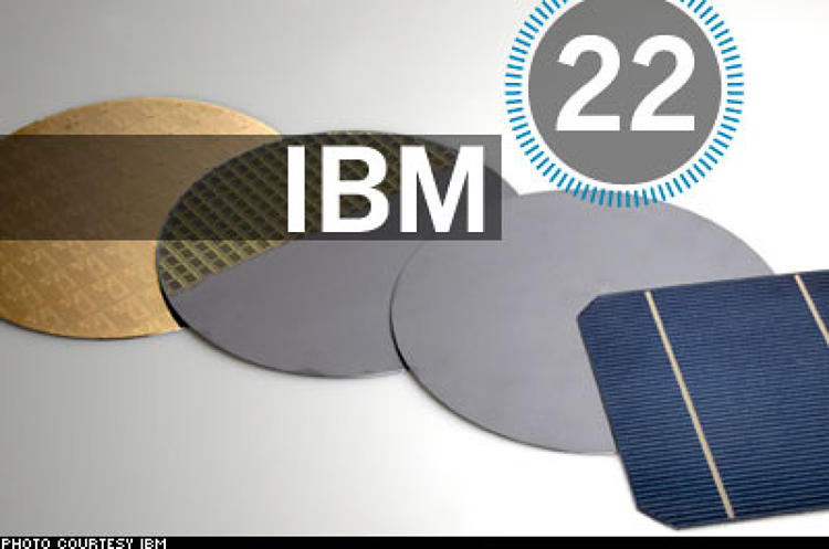 <p> IBM racked up more U.S. patents in 2007 than any other company--for the 15th year in a row. It also celebrated the first anniversary of InnovationJam: CEO Sam Palmisano pledged $100 million for the best ideas at the companywide brainstorm; he ultimately funded 10 of the 37,000 submitted, including five entirely new businesses. &quot;Everyone's trying to figure out the holy grail of collaborative innovation,&quot; says IBM VP David Yaun. So now IBM is selling the Innovation-Jam methodology itself.  </p> <p> <a href=&quot;/fast50_08/ibm.html&quot; target=&quot;_new&quot; title=&quot;IBM&quot;>Read more about IBM</a>  </p>