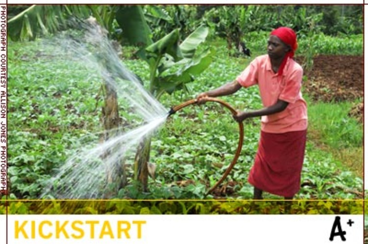 <p>In fiscal year 2006 alone, KickStart helped 9,200 families start businesses that together generated over $10 million. To date, KickStart has helped over 240,000 people get out of poverty. </p>
