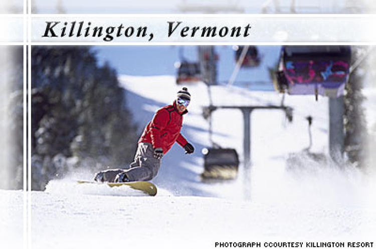 <p> Killington Resort has one of the largest snowmaking systems in the world, which means tons of energy consumption just to keep the mountain up and running. But, Killington has stayed on top of its economic impact and is: </p> <ul> 	<li>Finalizing a seven-year project to replace its diesel-powered snowmaking compressors with newer low-emissions machines that will reduce total emissions by 50 percent next year.</li> 	<li>Supplementing the water used for snowmaking with cold water from the Woodward Reservoir.</li> 	<li>Saving 30,000 gallons of fresh water a day from its recycled waste water system that operates in the restroom facilities of its six base lodges.</li> </ul>