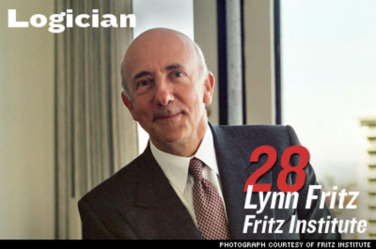 <p>When Fritz sold his logistics firm to UPS in 2001 he decided to apply his expertise in getting things from here to there to humanitarian aid. The Fritz Institute has designed, built, and deployed free logistics software; convened the first association for aid workers; and launched a consortium of companies that lend logistics experts.</p>