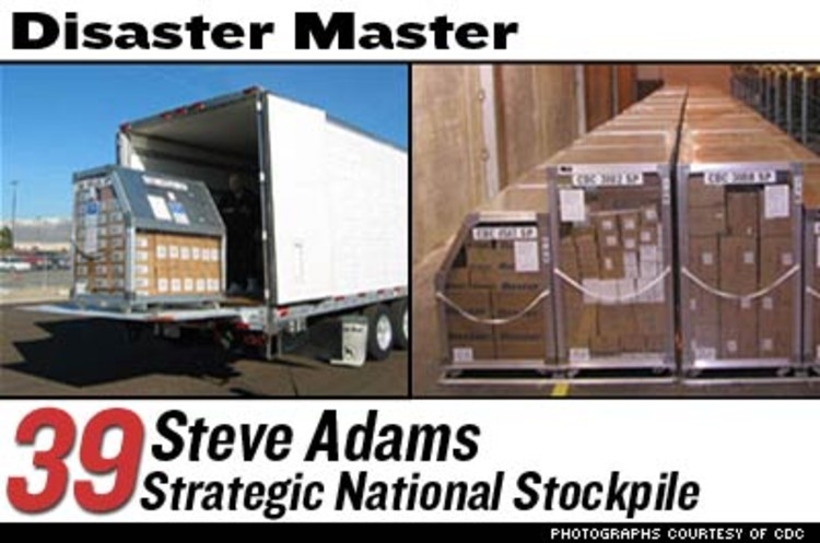 <p>The Strategic National Stockpile was set up in 1999 to plan the medical response to a bioterror attack or pandemic, and maintain a network of 12 secret warehouses filled with the supplies to counteract bioterrorism or an outbreak of disease. The goal is to deliver supplies anywhere in the U.S. within 12 hours. </p>