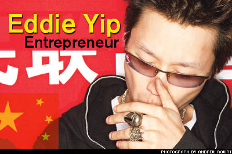 <p>The founder of adFunture, an edgy vinyl toy line, Eddie Yip is also a partner in Da>Space, a Shanghai gallery that showcases China's emerging street culture. His designs have made the cut at &quot;urban vinyl&quot; phenomenon Kidrobot in the United States.</p>