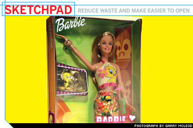 <p>Subsequent research, though, showed that people thought the dolls &quot;look more natural with slight differences.&quot; That insight freed Mattel to pursue an easier-to-open package without sacrificing the customer's perception of quality.</p>
