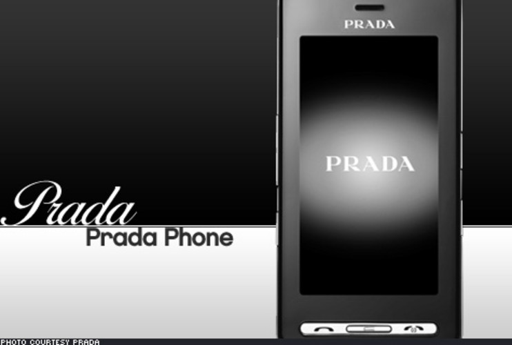 <p> There's a certain elegance about touch-screen phones that almost begs for a designer's take. Aptly, Prada and LG have teamed up to produce the Prada Phone, a 12mm-thin beauty that features a bright TFT touchscreen, GSM connectivity, and a handful of tricks you can't get on an iPhone: Java support, multimedia messaging, a MicroSD slot, and of course, the Prada name. $780. </p>