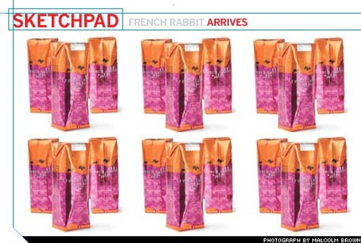 "<p>The Tetra Pak French Rabbits arrive at stores in branded, recyclable cardboard boxes that can be used to build ""distinctive displays,"" eliminating the need for additional, bulky point-of-scale elements.  This spring, Boisset launched four-packs of ""single-serving"" French Rabbit to promote the wine as picnic friendly.</p>"