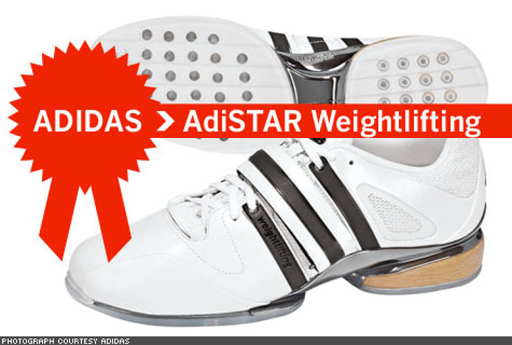 <p> Weightlifting is one of the original sports of the modern Olympics, debuting in 1896. ADISTAR WEIGHTLIFTING shoes blend centuries' old technology with modern amenities – the wooden wedge in the heel gives uncompromising stability, while the PU-coated leather in the midfoot and forefoot areas offer a durable form-fitting hold.  </p>