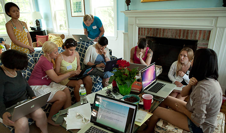 In an effort to repair the gender imbalance in the tech community, Sara Chipps, a cofounder of Girl Develop It, teaches women how to create their own visions on the web. In the Hamptons, she taught everyone how to access <a href=&quot;https://github.com/&quot;>GitHub</a>, a software program that allows developers to collaborate with one another.