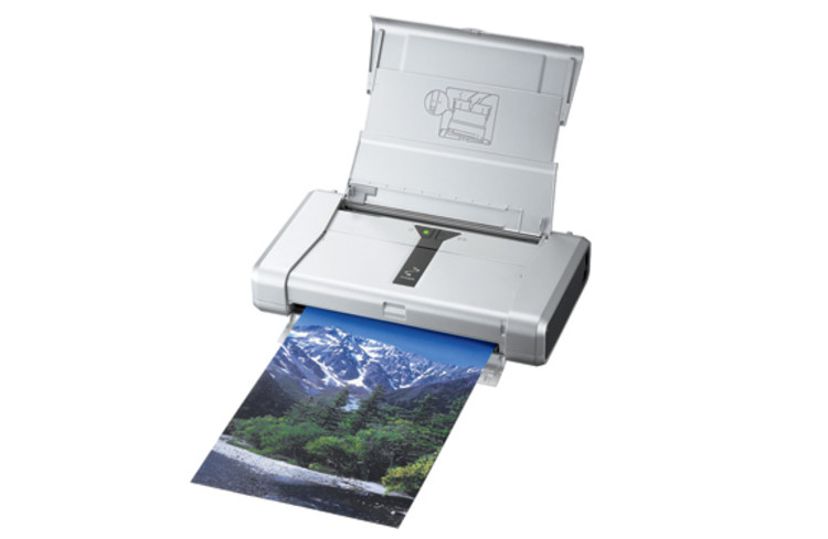 <p>Roughly the size of a piece of paper itself, Canon's 4.4-pound mobile printer fits in your travel bag and is faster than most desktop printers (black-and-white clocks in at three seconds per page). Add Bluetooth ($50) and skip fussing with USB cords. <em><a title=&quot;usa.canon.com&quot; href=&quot;http://www.usa.canon.com&quot; target=&quot;_new&quot;>usa.canon.com</a></em> | <strong>$250</strong></p>