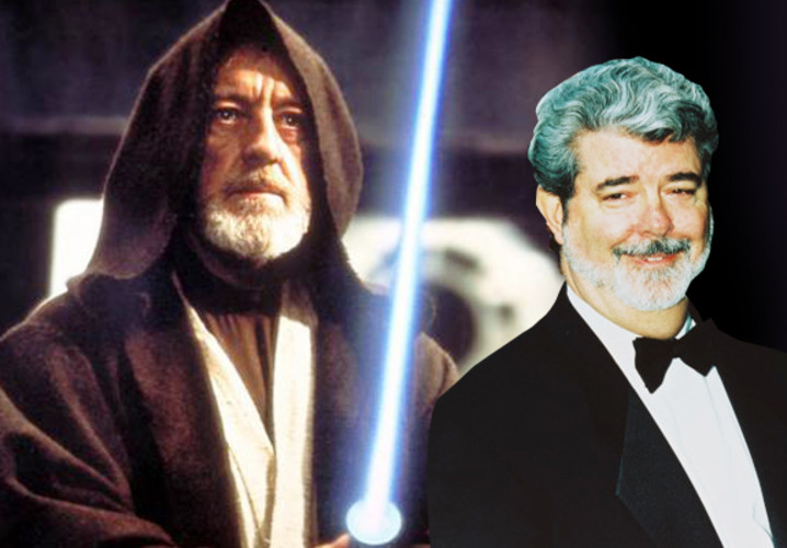 "In the original script, Obi-Wan Kenobi was supposed to survive. But midway through shooting Star Wars: A New Hope, George Lucas realized that the Dark Side just wasn't looking fierce enough, but if Darth Vader killed Obi-wan, the power of the Empire would be obvious. And, with that insight, another followed, as Johansson writes, the elder Jedi's spirit could become a guide to the young Luke Skywalker.   When Alec Guinness, who was playing Kenobi, heard this, he nearly walked off stage. But, thankfully, he stayed the course, and his beyond-the-grave ""May the force be with you"" has become legendary."