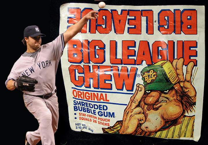 We all remember the famous scene in <em>The Sandlot</em> when the boys get their hands on some tobacco. &quot;What is it?&quot; Smalls wonders. Big chief! Wad! Dip! Chaw! 'Baccy! &quot;All the pros do it.&quot; Big League Chew transformed MLB-stars's penchants for chewing tobacco into a G-rated version little leaguers, giving baseball players of all ages access to a sugary supplement to gnaw on in the dugout. <p></p> In 1995, after well over a decade on the market, Patrick Reynolds, the grandson of tobacco magnate R.J. Reynolds, spoke with the <a href=&quot;http://www.nytimes.com/1995/05/21/magazine/sunday-may-21-1995-a-question-for-patrick-reynolds.html?scp=4&sq=big%20league%20chew&st=cse&quot;><em>NY Times</em></a> about the product. &quot;Baseball players...have helped repopularize chewing tobacco by having a wad in their cheeks and a round can in their back pockets,&quot; he said. &quot;There's even a brand of chewing gum called Big League Chew that children can buy. I wrote to Wrigley's and tried to get them to stop selling that product. It's abominable.&quot; Yet the product remains on stands. More recently, as congress pressures the Major League to ban real tobacco, <a href=&quot;http://www.nesn.com/2010/04/congress-pressures-major-league-baseball-to-ban-chewing-tobacco.html&quot;>some have suggested</a> that the problem would be solved if players would just switch to Big League Chew.