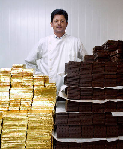 Madécasse's production partner Shahin Cassam-Chenai has been a self-taught chocolate maker since 2006.
