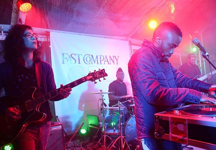 Blaqstarr At The Fast Company Grill